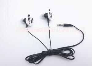 China Retro Little Panda Super Bass Headphones Multimedia Earphones With Soft Silicone on sale