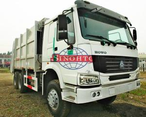 China 16M3 - 22M3 Waste Collection Trucks HOWO 6x4 Garbage Compactor Truck on sale