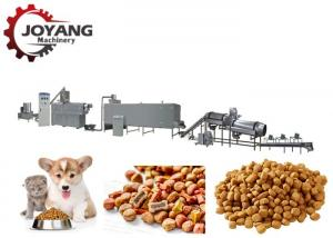 China Big Capacity Pet Food Extruder For Dog Food Manufacturing , CE Passed on sale