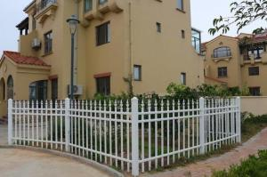 China 3d Models Villa Fence High Security , Front Fence Gates Hot Dipped Galvanized on sale