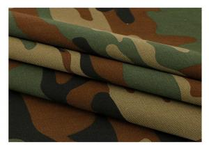 China Woven Digital Printing 20*16 Military Camouflage Fabric on sale