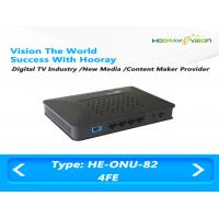 China Triple Play Solution EPON ONU FTTH Home Gateway Virtual Terminal Unit on sale