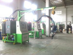 China Máquina de carcaça rotatória do poliuretano, máquina da espuma do pulverizador da baixa pressão on sale