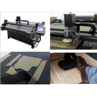 China Full Cover Car Mat XPE Car Slip Proof Mat Production Plotter Cutter Machine on sale