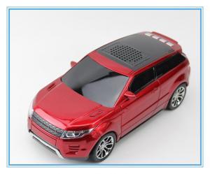 China mini car speaker radio speaker/FM music speaker /Land Rover Range Rover shape card TF speakers on sale