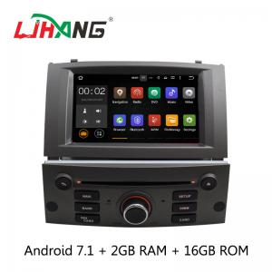 China Android 7.1 7 Inch Peugeot DVD Player PX3  4Core With AUX-IN Map GPS on sale
