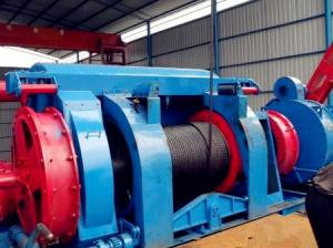 China JC Series Oil Drilling Rig Components API Drawwork JC70 / JC70DB 1500 HP on sale