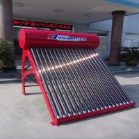 Non Pressure Color steel thermosiphonic compact solar hot water heater 250L