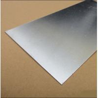 China 3003 5052 6061 Aluminum Sheet , Mirror Finish Aluminium Sheet Silver Color on sale