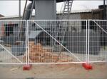 A cerca provisória padrão galvanizada mergulhada quente barata de Austrália da cerca provisória almofada a venda quente