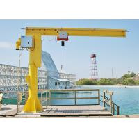 China Fixed Column Slewing Rotate 5 Ton Mobile Crane Lifting Equipment For Workshop on sale