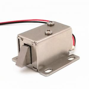 China Electric Drop Bolt Type Cabinet Door Electronic Solenoid Lock on sale