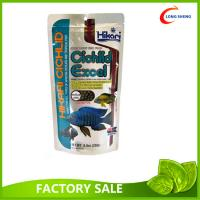 Stand Up Style 50x100 Fish Food Packaging, Pet Treat Packaging Bag With Ziplock