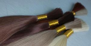China 18 Afro curly Indian human hair Bulk hair on sale