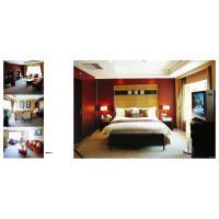 Luxury Ergonomic Hotel Bedroom Furniture Sets Glossy Oil Painting / Powder Coated