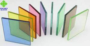 China PVB Film Laminated Glass Sheets Various Colors For Architectural Glass on sale