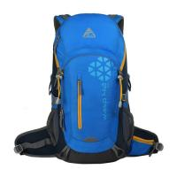 42L Outdoor Camping Backpack Internal Frame Pack Blue Hiking Daypack