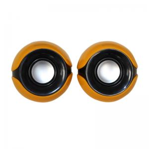 China Big Bass / 50 mm Speaker , 4 Ohms Stereo 3.5 mm CORD Plug 2.0 Multimedia Speakers on sale