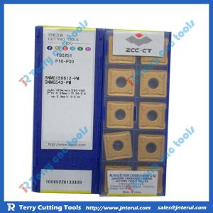 China ZCCCT carbide CNC brass inserts with competitive price, fast delivery on sale