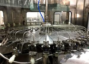 China Rotary Automatic Juice Bottle Filling Machine Washer Filler Capper Monobloc Machine on sale