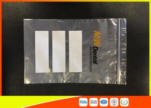 Quality Ldpe Plastic Resealable Industrial Ziplock Bags With Pouch Used For Chemical for sale