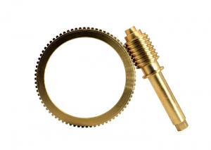 China Professional Worm Gear And Worm Wheel / Worm Wheel Gear  90T 0.5 Module ZCuSn10Pb on sale