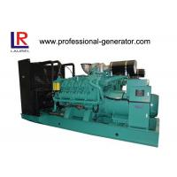 Four Stroke 1350kw Open Diesel Generating Sets with AC Rotating Exciter for Land Use