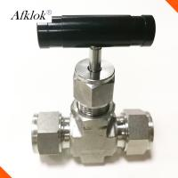China NV Stainless Steel Ball Valve 1/8'' 1/4'' 1/2'' Manual Power For Flow Control on sale