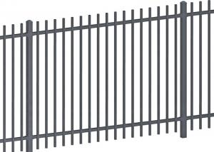 China Steel Security Fencing System Hot Dipped Galvanized Garrison Security Fence on sale