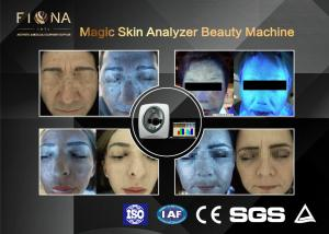 China Uv Light Facial Skin Analyser Machine Multi Function 50HZ For Age Test on sale