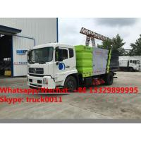 2018s best beller-factory sale dongfeng tianjin 10CBM road sweeping vehicle for sale, street sweeper cleaning truck
