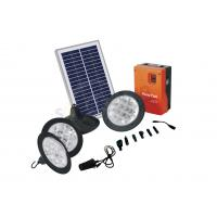 Eco - friendly Portable Solar Home Lighting Kits with  Moduled Battery Box