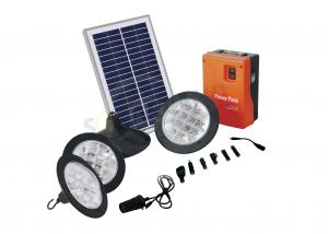 China Eco - friendly Portable Solar Home Lighting Kits with  Moduled Battery Box on sale