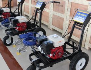 China PT5090 4.0L/Min Road Line Painting Machine Maximum Pressure 250 Bar on sale