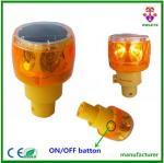 Factory Price Patented solar powered traffic warning lights, led strobe light, yellow flash light
