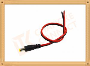 China Custom Cable Assembly Red And Black With Male Connector , Camera Power Cable on sale