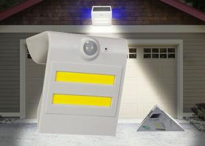 China Waterproof Solar LED PIR Light Automated Switch For Pathway Automatically At Night on sale