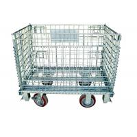 Warehouse Storage Collapsible Hanging- type Wire Mesh Container