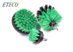 China OEM Heavy Duty Drill Brush , Dirt Scrub Grout Cleaning Brush For Drill Excess on sale