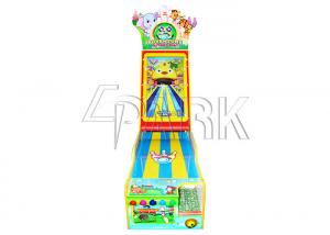 China Bowling alley simulation indoor playground shooting ball redemption ticket arcade video game machine on sale