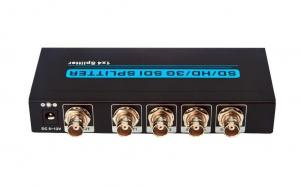 China Black 1920 x 1080 HD Bnc Video Splitter Built In Cable Equilibrium on sale