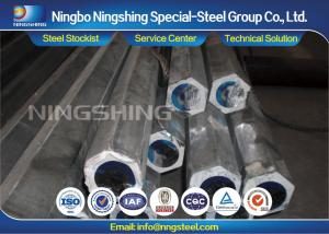 China Hexagon 4140 / 42CrMo4 / 1.7225 Cold Drawn Steel Bar With 100% UT Passed on sale