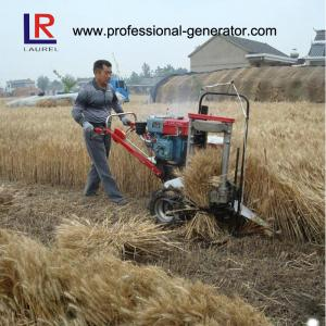 China 8HP 5KW Wheat Reaper Binder Harvester with water cooling diesel engine on sale