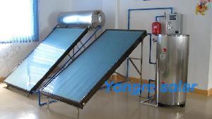 China Split Pressurized Flat Plate Solar Water Heater on sale