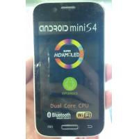 """4.5"""" smart phone  Mini S4, android 4.1 OS, 2GMSslot, with Bluetooth, GPS, MP3, Ebook"""