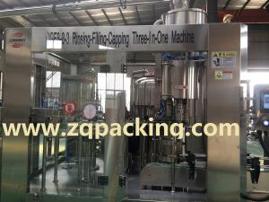 China Small capacity Glass bottled drinking water filling machine on sale