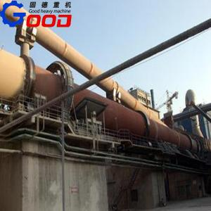 China titanium dioxide rotary kiln on sale