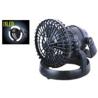 China Powerful Outdoor LED Camping Fan With Double Battery Operated 3V on sale
