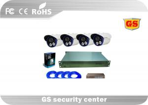 China 4Ch CCTV Digital Video Recording System Support IE / Mobile Phone Client Software on sale