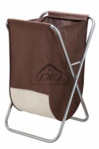 China X-Frame Laundry Hamper W/ Canvas Bag on sale